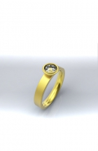 Ring Gelbgold Brillant