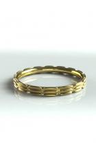 Ring mit plastischer Struktur