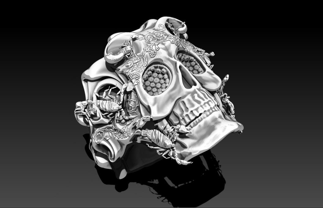 Skull-Ring Design